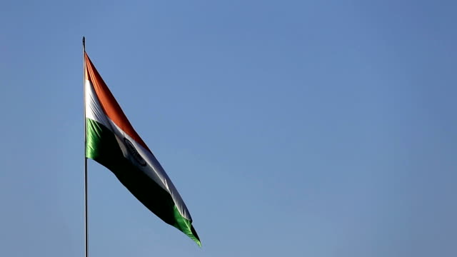 Windy Indian National Flag (Tricolor) video