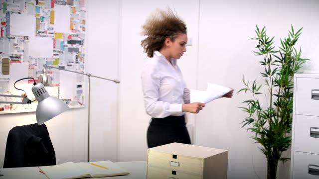 Windy paper blast video
