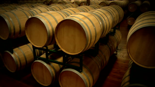 Wine Barrels video