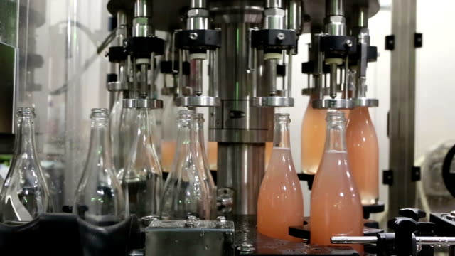 wine bottles bottling automation machinery video
