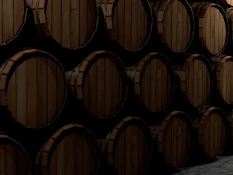 Wine casks video