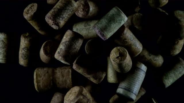 Wine Corks in Flight video