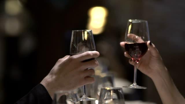 Wine glasses video