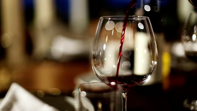 Wine pouring fine dining restaurant Wine pouring fine dining restaurant winetasting stock videos & royalty-free footage