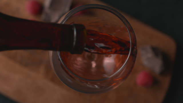 Wine pouring Wine pouring in super slow motion, shot on Phantom Flex 4K red wine stock videos & royalty-free footage