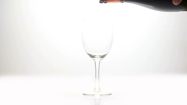 Wine slow motion video