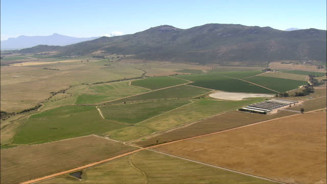 winery landscape - Aerial View - Western Cape,  Cape Winelands District Municipality,  Drakenstein,  South Africa