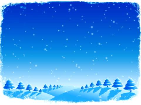 vídeos de stock, filmes e b-roll de inverno animation - clipe