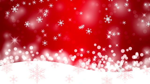 Winter background with snowflakes, abstract Christmas Background. video