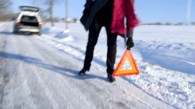 Winter Driving - Car Trouble video