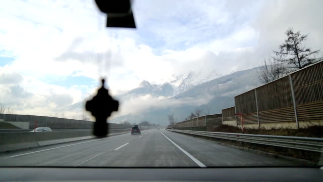 Winter Driving in Austria video