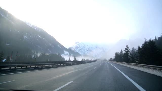 Winter Driving in Austria video