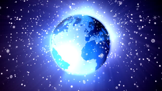 winter earth - earth from space bildbanksvideor och videomaterial från bakom kulisserna