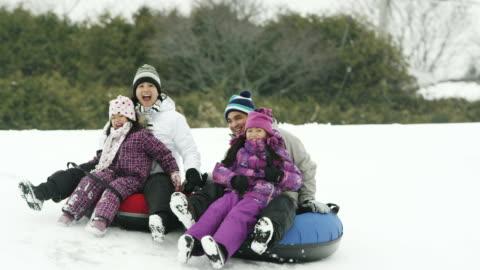 vídeos y material grabado en eventos de stock de invierno divertido - actividades recreativas