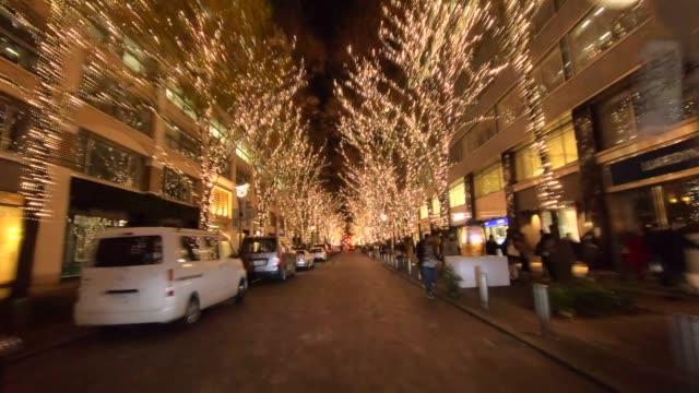 Winter Illumination drive in Tokyo
