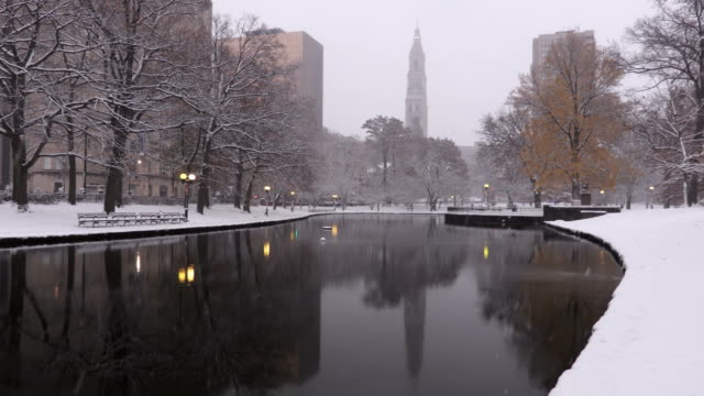 Winter in Hartford, Connecticut Bushnell Park in Hartford, Connecticut is the oldest publicly funded park in the United States. connecticut stock videos & royalty-free footage