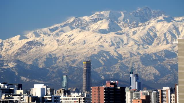 Winter in Santiago, Timelapse