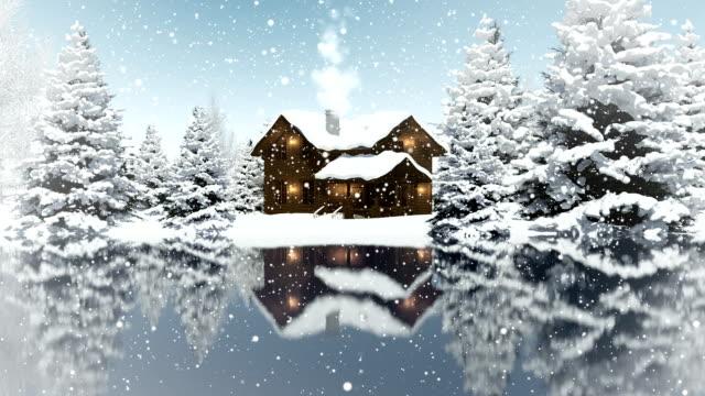 Winter Landscape | Loopable video