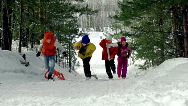 Winter Race video