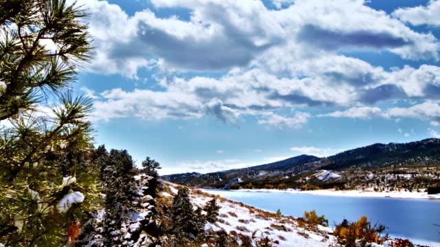 Winter river video