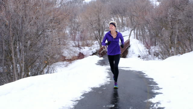 Winter Running video