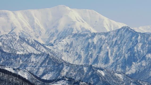 Winter season in Yuzawa, Niigata Prefecture, Japan video