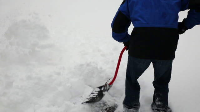 Winter Shoveling Slow