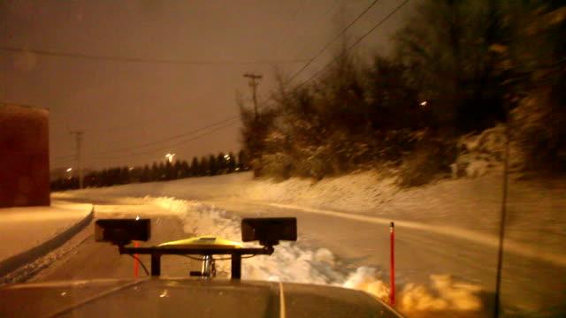 Winter Snowplow video