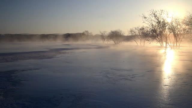 winter sunlight video