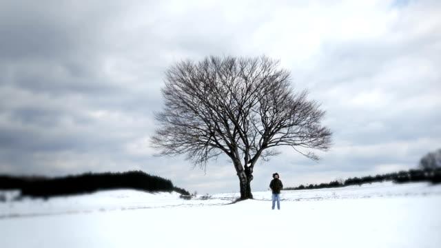 Winter walk video