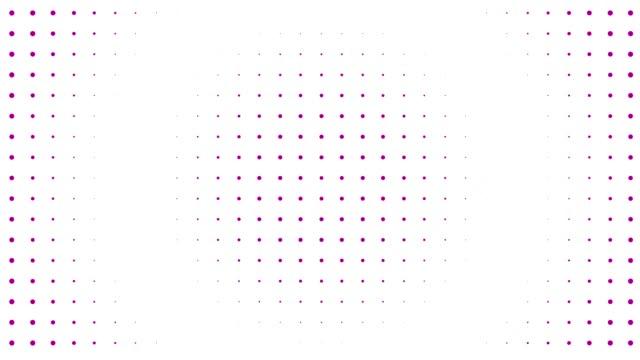 vídeos de stock, filmes e b-roll de elemento do projeto do fundo do frame do fio 4k (loopable) - joining the dots