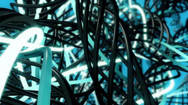 Wires in Loop Blue video