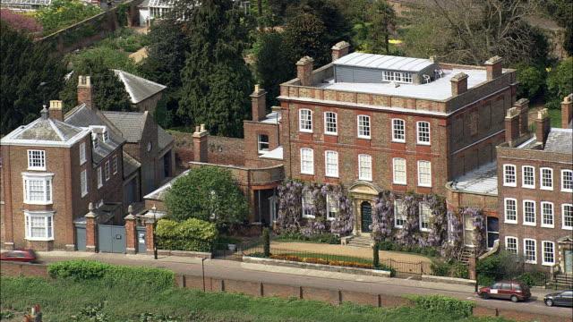 Wisbech  - Aerial View - England, Cambridgeshire, Fenland District, United Kingdom video