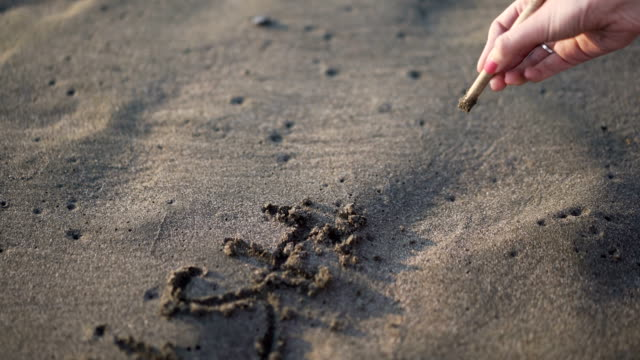 'Wish You Were Here' In The Sand