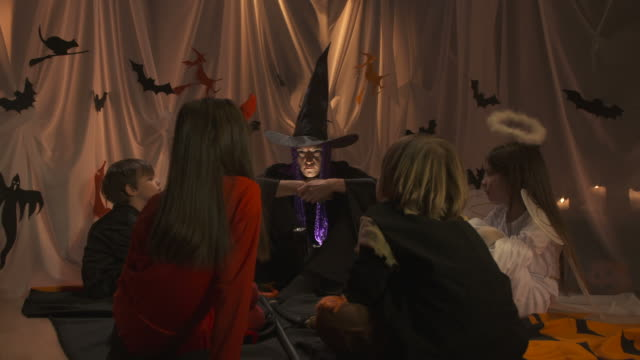HD DOLLY: Witch Scares Children Away video