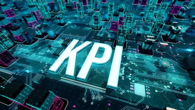 vídeos de stock, filmes e b-roll de kpi com conceito de tecnologia digital - validação