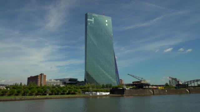 EZB ウィズ スカイライン フランクフルト ビデオ