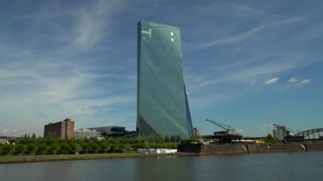 EZB mit Skyline Frankfurt – Video