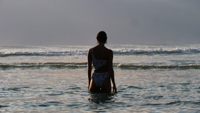 Woman and the sea video