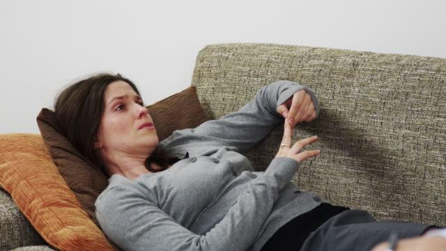 Woman at psychiatrist video