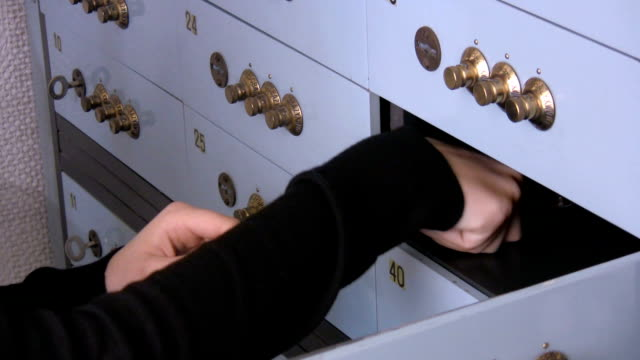 Woman checking the safe content video