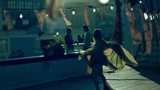 Woman dancing video