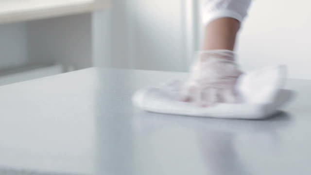 Woman doing housework. Woman doing housework.  Cleaning table dishwashing liquid stock videos & royalty-free footage
