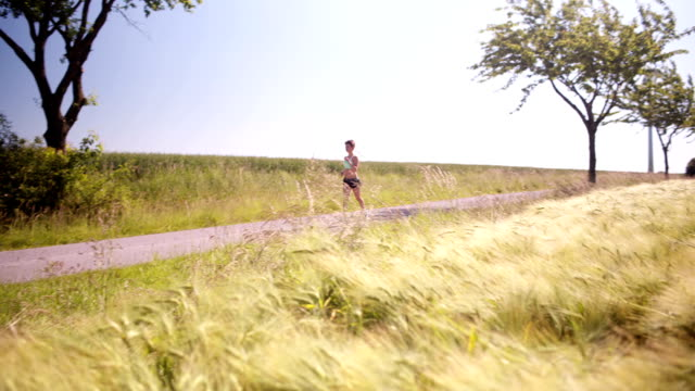 Woman Going For Run video