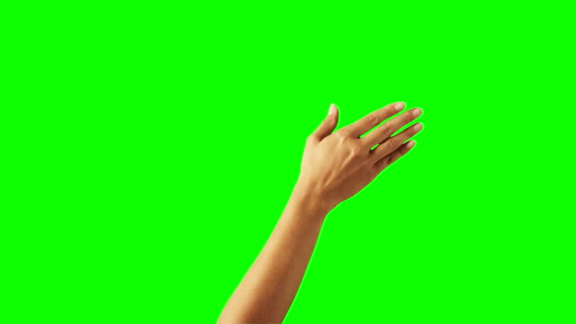 vídeos de stock, filmes e b-roll de mulher mão gesto - mão