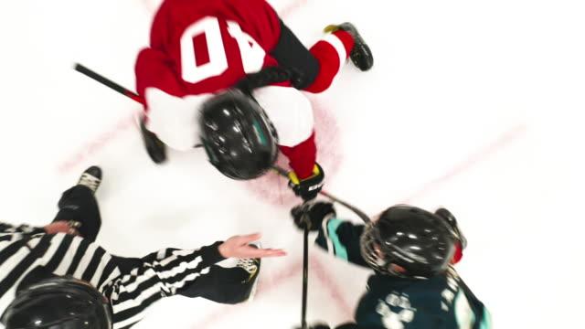 Woman Ice Hockey Team on the Ice - video
