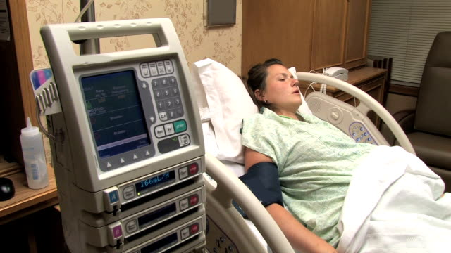 Woman in Labor video