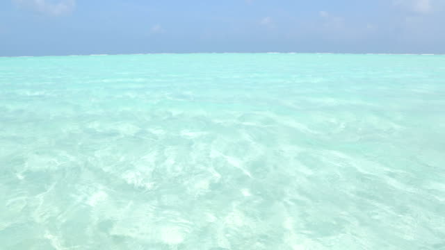 Woman in Maldives Woman walking along the beach indian ocean islands stock videos & royalty-free footage