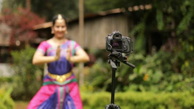 Woman Making a DIY Tutorial Video video
