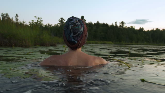 Woman of the lake video